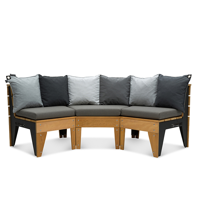 Triple Long Couch 235